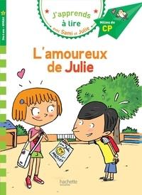Emmanuelle Massonaud - J'apprends à lire avec Sami et Julie  : L'amoureux de Julie - Milieu de CP, niveau 2.
