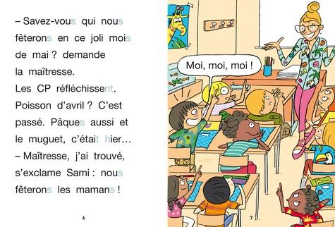 J'apprends à lire avec Sami et Julie  La fête des mères. Milieu de CP, niveau 2