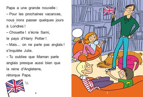 J'apprends à lire avec Sami et Julie  Sami et Julie à Londres. Niveau CE1