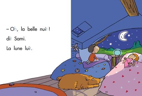 J'apprends à lire avec Sami et Julie  Sami et Julie la nuit. Début de CP, niveau 1
