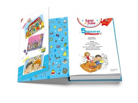 J'apprends à lire Sami et Julie Fin CP-CE1. 5 histoires spécial vacances