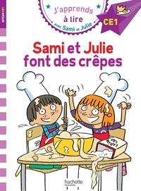 Emmanuelle Massonaud et Thérèse Bonté - Sami et Julie font des crêpes.