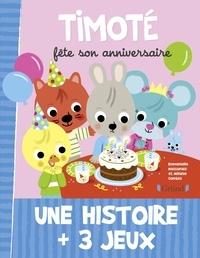 Emmanuelle Massonaud et Mélanie Combes - Timoté fête son anniversaire.