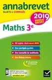 Annales du brevet Annabrevet 2019 Maths 3e - 90 sujets corrigés.