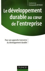 Deedr.fr Le développement durable au coeur de l'entreprise - Pour une approche transversale du développement durable Image