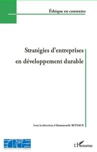 Emmanuelle Reynaud - Stratégies d'entreprises en développement durable.