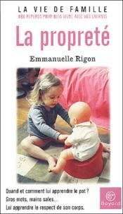 Emmanuelle Rigon - La propreté.