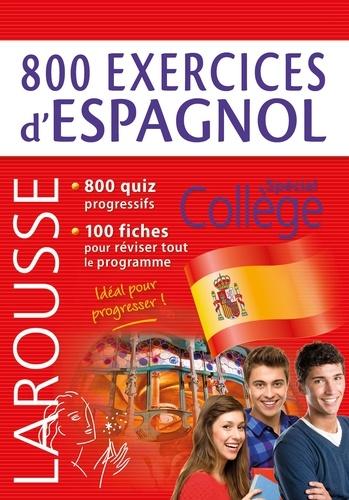 Emmanuelle Sourimant - 800 exercices d'espagnol.