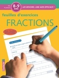 Emy Geyskens - Feuilles d'exercices Fractions 8-9 ans CE2.