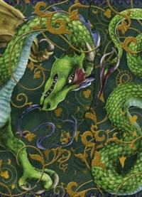Encre Violette - Carnet dragon.