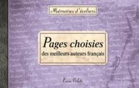 Encre Violette - Pages choisies des meilleurs auteurs français.