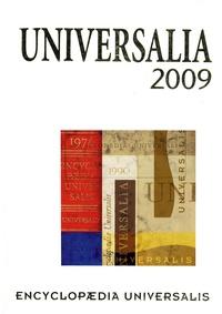 Encyclopaedia Universalis - Universalia 2009 - La politique, les connaissances, la culture en 2008.