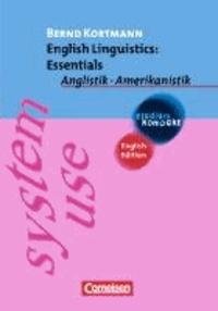 English Linguistics: Essentials - Anglistik - Amerikanistik.