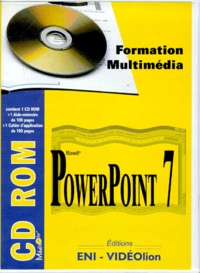 POWERPOINT 7. Formation multimédia avec un aide-mémoire, un cahier dapplication et un CD-ROM.pdf