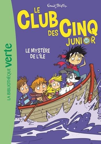 Enid Blyton - Le Club des Cinq Junior Tome 2 : Le mystère de l'île.