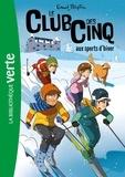 Enid Blyton - Le Club des Cinq Tome 9 : Le Club des Cinq aux sports d'hiver.