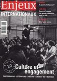 Anne-Marie Impe - Enjeux Internationaux N° 10, Spécial : Culture et engagement.
