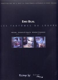 Enki Bilal - Les Fantômes du Louvre - Portfolios de 3 des 32 fantômes apparus à Enki Bilal.