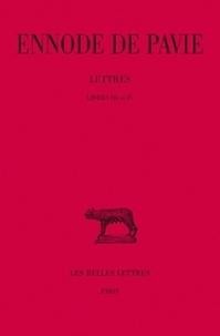 Goodtastepolice.fr Lettres - Tomes 2, Livres III et IV Image