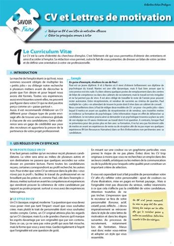 Enrick Barbillon - CV et lettres de motivation.
