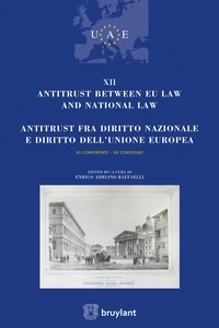 Enrico Adriano Raffaelli - Antitrust between EU law and national law.