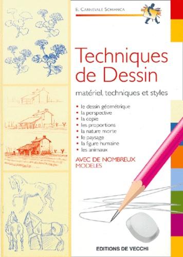 Enrico Carnevale-Schianca - Techniques de dessin.