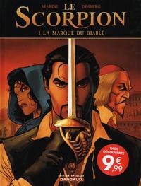 Enrico Marini et Stephen Desberg - Le Scorpion  : Tomes 1 à 3 : La marque du diable ; Le secret du pape ; La Croix de Pierre.