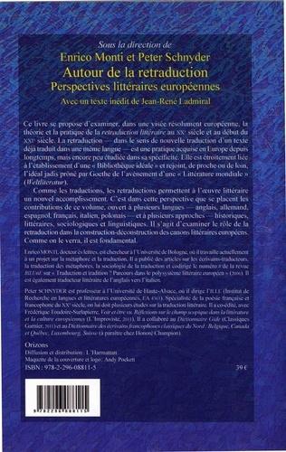 Autour de la retraduction. Perspectives littéraires européennes