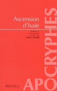 Enrico Norelli - Ascension du prophète Isaïe.