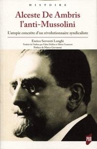 Deedr.fr Alceste De Ambris l'anti-Mussolini - L'utopie concrète d'un révolutionnaire syndicaliste Image