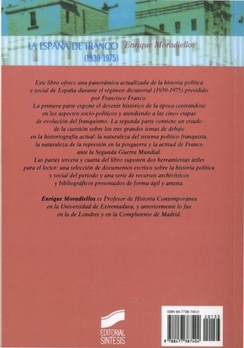 La España de Franco (1939-1975). Política y sociedad