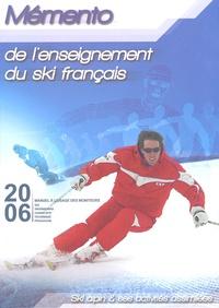 ENSA - Mémento de l'enseignement du ski français. 1 DVD