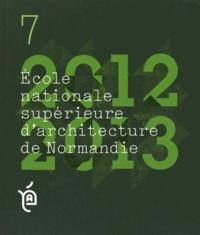 ENSA Normandie - Projets de fin d'études 2012-2013.