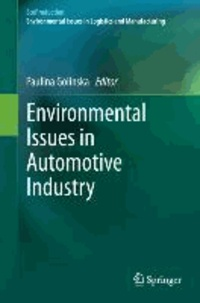 Environmental Issues in Automotive Industry.