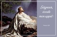 """Ephèse diffusion - Carte """"Seigneur Jésus écoute mon appel!""""."""