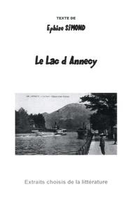 Ephise Simond - Le Lac d'Annecy.