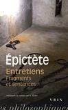 Epictète - Entretiens, fragments et sentences.