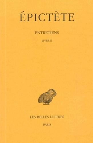 Epictète - Entretiens - Livre 2.