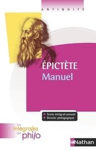 Epictète - Epitècte - Manuel.