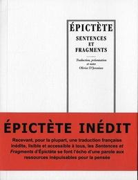 Epictète - Sentences et fragments.