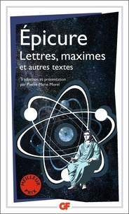 Epicure - Lettres, maximes et autres textes.