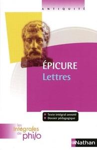 Lettres -  Epicure pdf epub