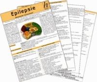 Epilepsie ( 2er-Set ) - Medizinische Taschen-Karte.