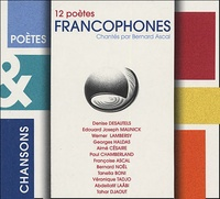 Bernard Ascal et  Collectif - 12 poètes francophones. 1 CD audio