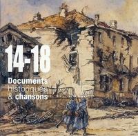 EPM - 14-18, documents historiques & chansons. 3 CD audio