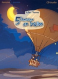 Jules Verne - 5 semaines en ballon. 1 CD audio