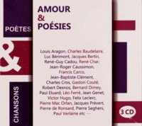 Julos Beaucarne et Jean-Roger Caussimon - Amour & poésies. 3 CD audio