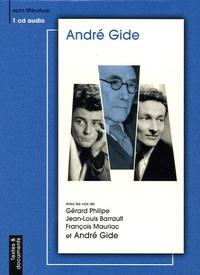 André Gide - André Gide - Textes et documents. 1 CD audio