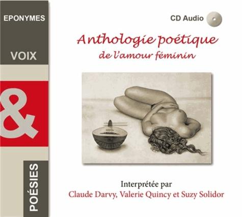 Anthologie Poétique De Lamour Féminin