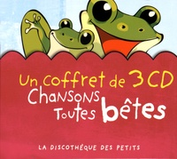 Eponymes - Chansons toutes bêtes. 3 CD audio